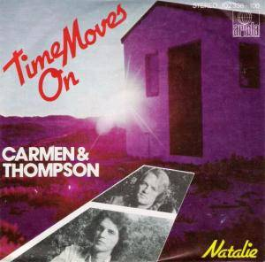 Cover - Carmen & Thompson: Time Moves On