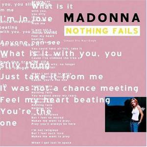 Madonna: Nothing Fails - Cover