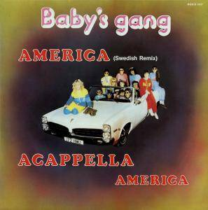 Baby's Gang: America - Cover