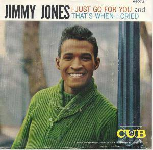Cover - Jimmy Jones: I Just Go For You