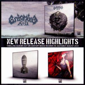 New Release Highlights - Thrilling Albums Out On Century Media Records In July/Early August 2014 - Cover