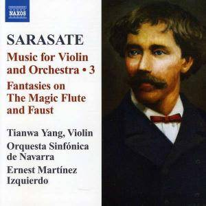 Cover - Pablo de Sarasate: Music For Violin And Orchestra / 3