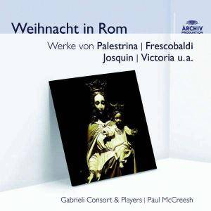 Cover - Domenico Mazzocchi: Gabrieli Consort & Players: Weihnacht In Rom