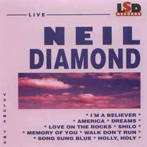 Neil Diamond: Vol. 2 - Cover