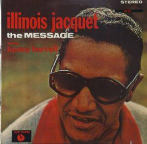 Cover - Illinois Jacquet: Message, The