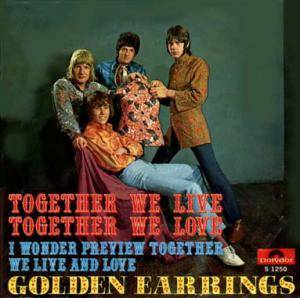 Cover - Golden Earrings: Together We Live, Together We Love