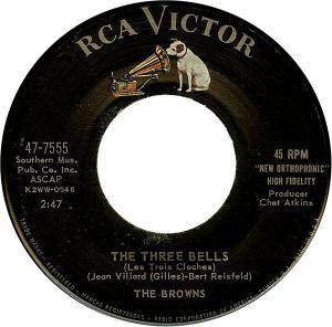 Cover - Browns, The: Three Bells, The
