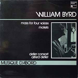Cover - William Byrd: Mass For Four Voices / Motets