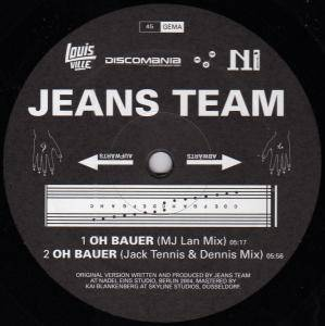 Cover - Jeans Team: Oh Bauer