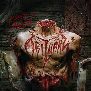 Obituary: Inked In Blood - Cover
