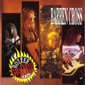 Barren Cross: Hotter Than Hell! Live - Cover