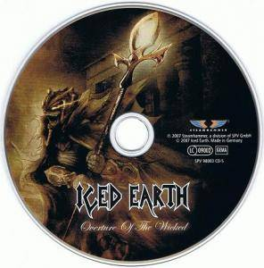 Iced Earth: Overture Of The Wicked (Single-CD) - Bild 2