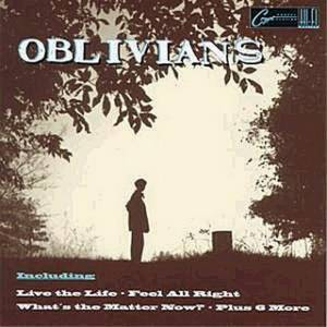 Oblivians: ...Play Nine Songs With Mr. Quintron - Cover