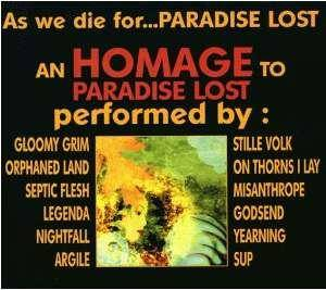 Cover - Stille Volk: As We Die For...Paradise Lost