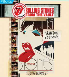 The Rolling Stones: From The Vault: Hampton Coliseum 1981 - Cover
