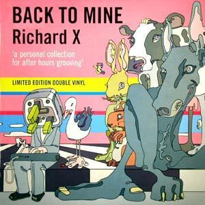 Back To Mine - Richard X - Cover