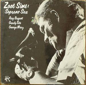 Cover - Zoot Sims: Zoot Plays Soprano