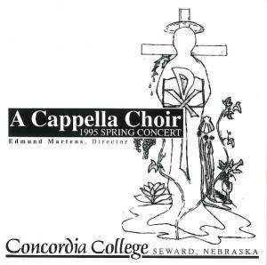 Cover - Alexander Gretschaninow: Cappella Choir Concordia College: 1995 Spring Tour, A