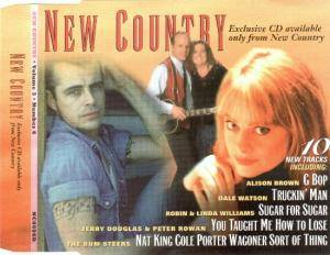 Cover - Bob Neuwirth: New Country • Volume 3 • Number 6