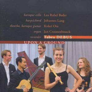 Cover - Louis-Antoine Dornel: Upon A Ground