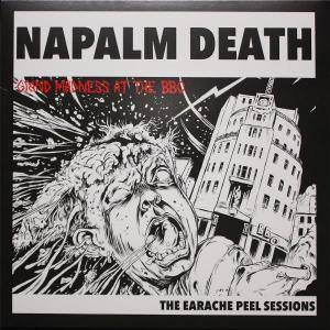 Napalm Death: Earache Peel Sessions, The - Cover