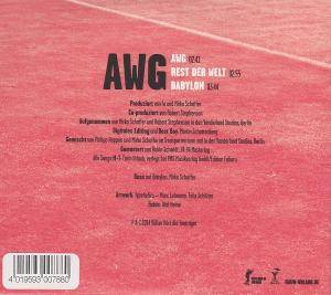 Farin Urlaub Racing Team: AWG (Single-CD) - Bild 3