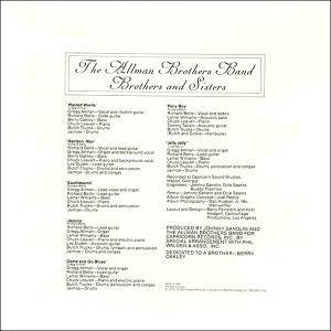 The Allman Brothers Band: Brothers And Sisters (LP) - Bild 7