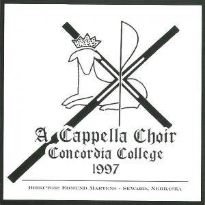 Cover - Alexander Gretschaninow: Cappella Choir Concordia College: 1997 Spring Concerts, A