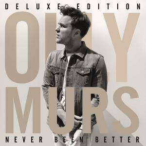 Cover - Olly Murs: Never Been Better