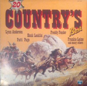 20 Country's Best - Cover