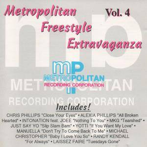 Metropolitan Freestyle Extravaganza Vol. 4 - Cover