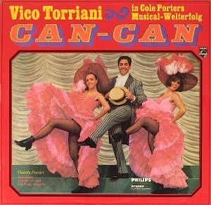 Cover - Vico Torriani: Can-Can