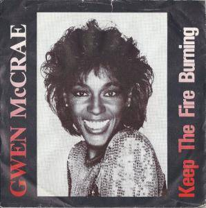 Cover - Gwen McCrae: Keep The Fire Burning