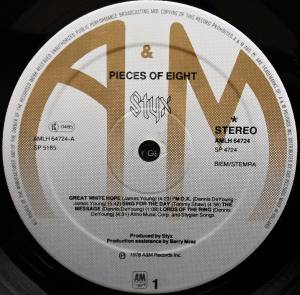 Styx: Pieces Of Eight (LP) - Bild 6
