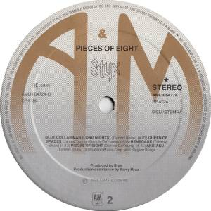 Styx: Pieces Of Eight (LP) - Bild 7