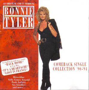 Bonnie Tyler: Comeback Single Collection '90-'94 - Cover