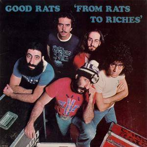 Good Rats: From Rats To Riches - Cover