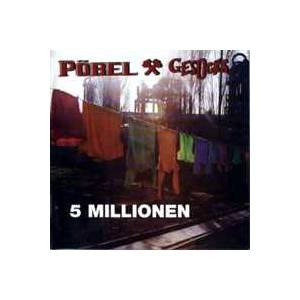 Cover - Pöbel & Gesocks: 5 Millionen