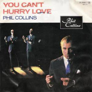 Phil Collins: You Can't Hurry Love - Cover