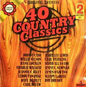Cover - Carl Belew: 40 Country Classics - Limited Edition 2