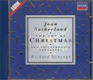 Joan Sutherland - The Joy Of Christmas - Cover