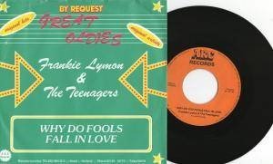 "Lloyd Price + Frankie Lymon & The Teenagers: Stagger Lee / Why Do You Fools Fall In Love (Split-7"") - Bild 2"