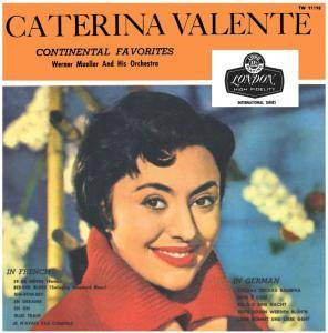 Cover - Caterina Valente: Continental Favorites