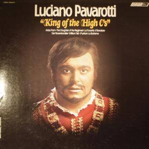 Cover - Luciano Pavarotti: King Of The High C's
