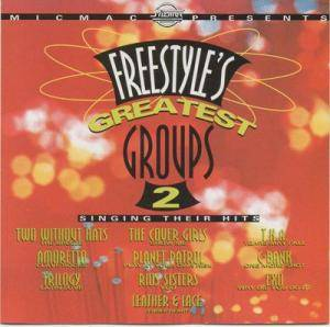 Cover - Trilogy: Freestyle's Greatest Groups Vol. 2