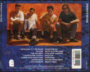 Pennywise: Pennywise (CD) - Bild 3