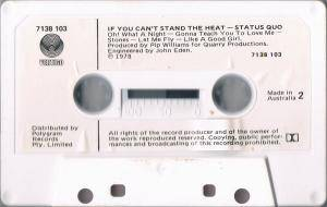 Status Quo: If You Can't Stand The Heat... (Tape) - Bild 6