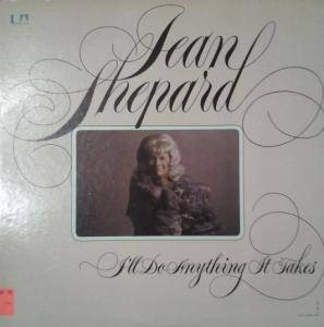 Cover - Jean Shepard: I'll Do Anything It Takes