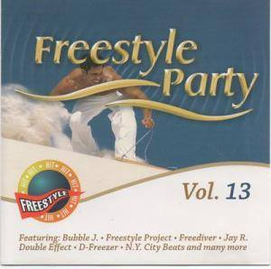 Freestyle Party Vol. 13 - Cover