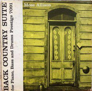 Cover - Mose Allison: Back Country Suite
